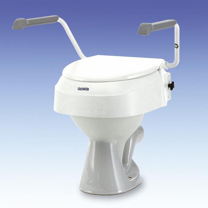 Rialzo per wc regolabile a cm 6 10 15 con braccioli sanitaria polaris srl - Rialzo per bagno ...