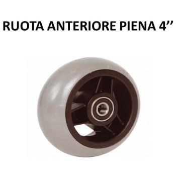 RUOTA ANTERIORE PIENA 4''
